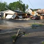 Collapsed Garage - 1100 block Green Bay St.