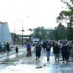 Green Bay Street after the Tornado