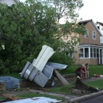 Tornado Damage - 1200 block Green Bay St.