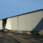 Warehouse Damage - 1200 block Green Bay St.